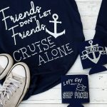 cruise shirts personalized koozies