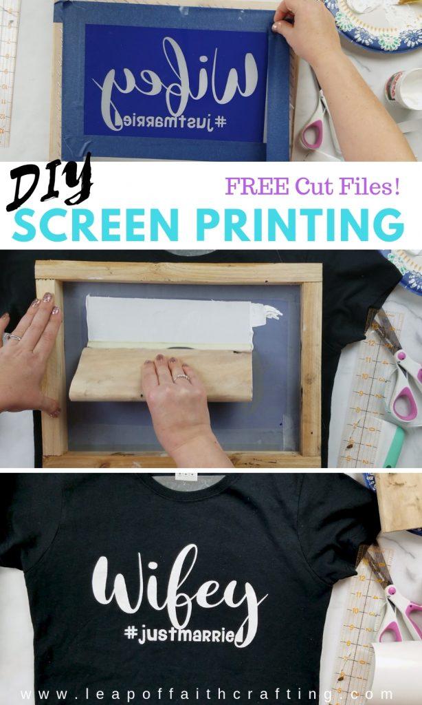 diy screen printing diy pin