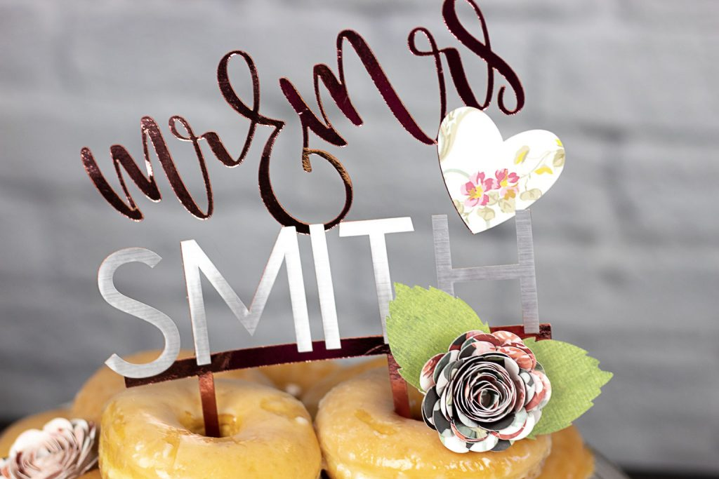 donut wedding diy