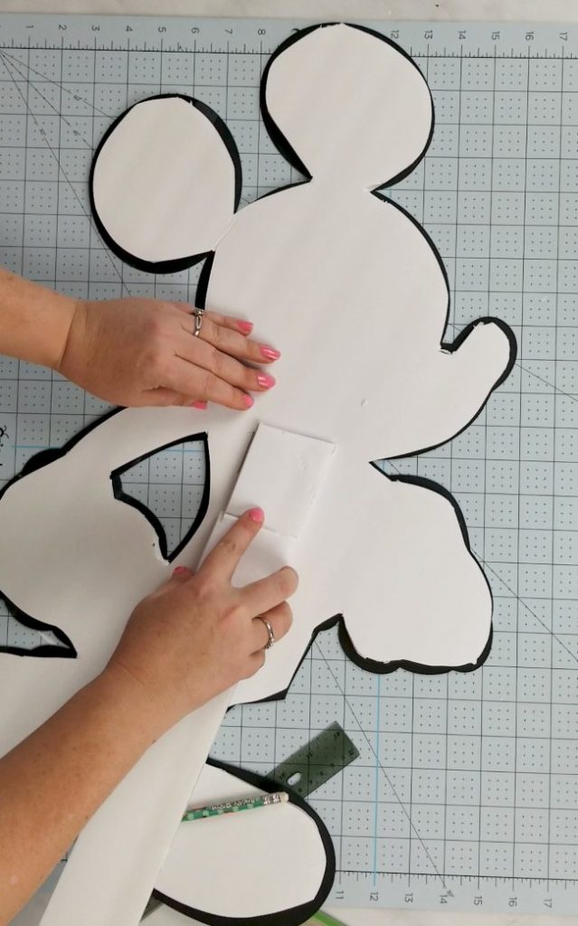 mickey mouse cut out cricut