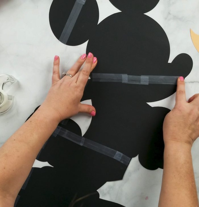 mickey mouse diy